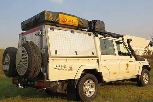 4 Sleeper Toyota Land Cruiser