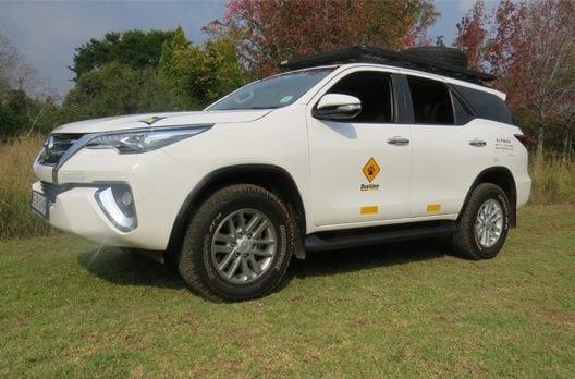 Toyota Fortuner Rental